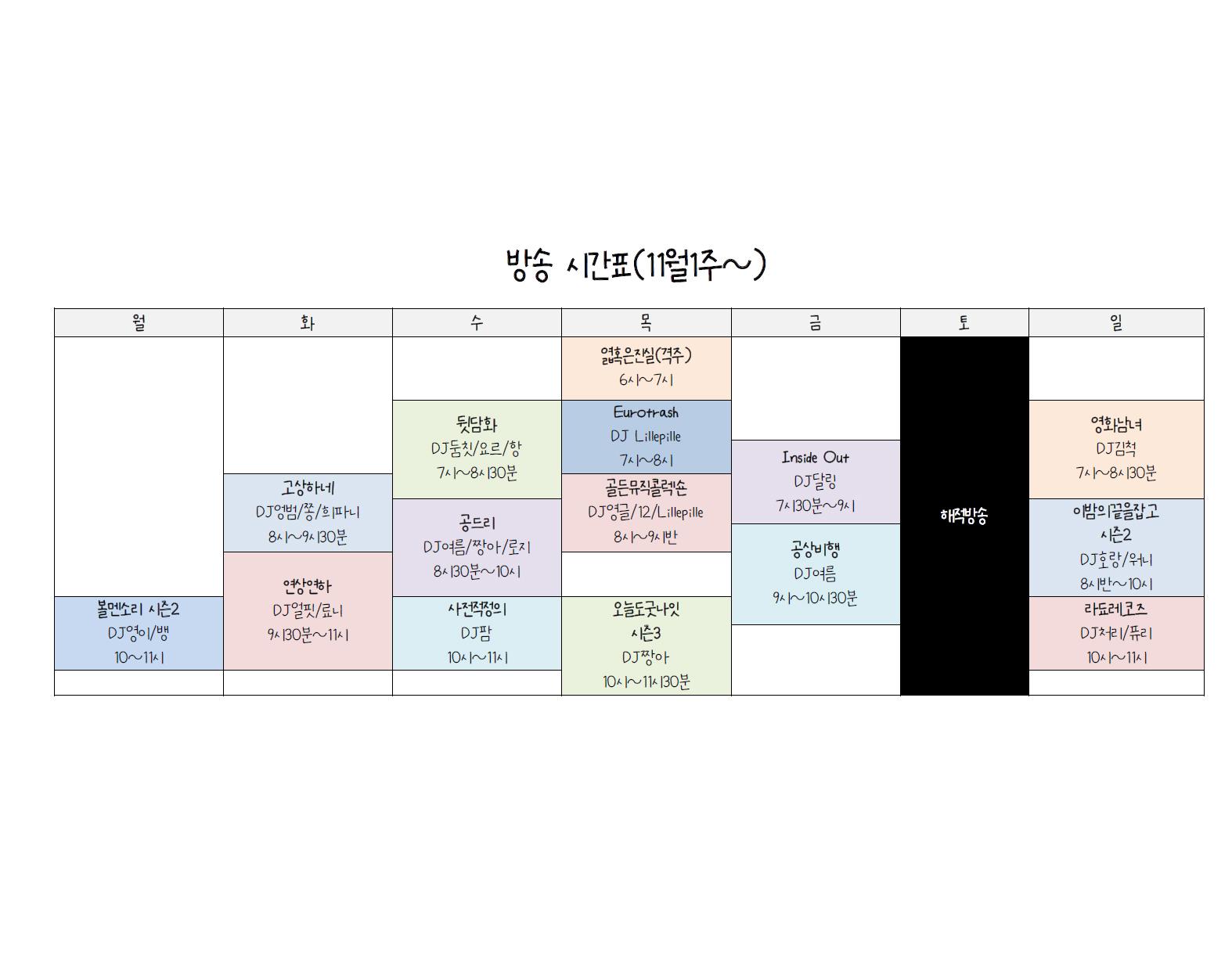 timetable big